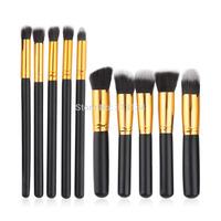 10pcs/Pack Beautiful Professional Cosmetic Makeup Brushes Set Kits for Women Girl Lady