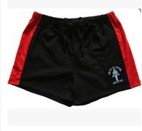 High Quality Men's Gold GYM Shorts Fitness Bodybuilding shorts High Elastic NPC Gasp Sports short