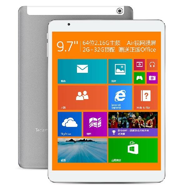 "Teclast X98 Windows 8 8.1 3G Intel quad core 64 bit 9.7"" Retina IPS 2048x1056 2GB 32GB 5MP WCDMA GPS tablet pc free shipping(China (Mainland))"
