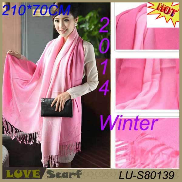 Winter Dress Big Stole Shawl Largest 200*70 Pashimina Section Scarves And Stoles Fringe Tassel Pashminas And Scarves 2014(China (Mainland))