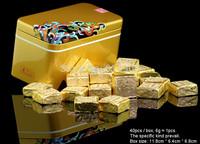 2003 Year Old Puerh Tea,255g Puer, 40pcs/box Ripe Pu'er pu er pu erh Tea,the health care chinese lose weight pu'erh