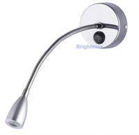 S029A SWITCH 1W 100Lumen Flexible arm light LED wall light LED reading lamp LED gooseneck lamp