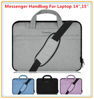 "Hot Handbag Sleeve Case For 14 "",14.4"",15 "",15.6 inch Laptop Bag, For Macbook Messenger Shoulder Bag, Wholesale, Free Ship"