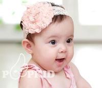 2015 Cute baby hair band girl children rose headband hair pictures of Princess Tiara