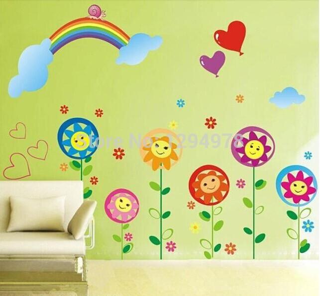 Kids room nursery school classroom layout baseboard
