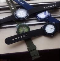 Fast HK Post Free Shipping 2014 New Arrival Fabric Quartz Watch Boys Cool Luminous Hands Clock Students Sports Wristwatch,TMW009