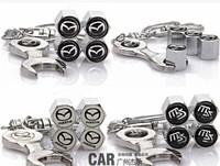 car styling mazda 3 2 mazda 6 CX5 CX-5 CX7 MX5 mazda ATENZA  wheel valve cap high quality