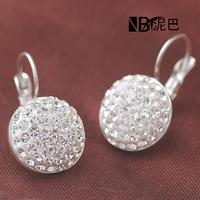Fashion Shiny Full Austrian rhinestone Crystal Earring wholesale