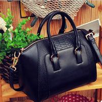 2014 crocodile pattern vintage women handbag portable female shoulder bags handbags women famous brands women messenger bag tote