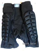 Men Women Hip Thigh Pads Crash Impact Padded Shorts Pants Protector For Skating Skateboard Snowboard Ski Light Weight Size XXL