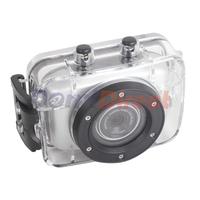 "High Quality HD 720p 2"" LCD Diving Waterproof Digital camera Helmet Sport Video Action Camera DV DVR Cam Camcorder"