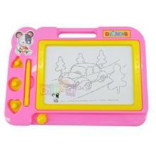 nuevo tablero de dibujo magnética esterasdecoches doodle dibujo arte arte escrito para niños niños color azul(China (Mainland))