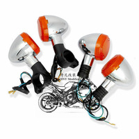 For Honda Magna 250/750 Steed 400 /600 shadow 400/750 motorcycle front and rear turn signal lamps motorcycle parts