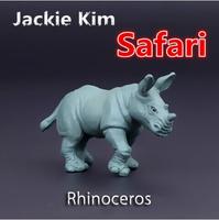 Free shipping Rhinoceros bulk solid simulation model for early childhood Animal Toy