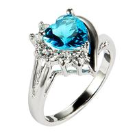 JA-6198, 6 colors Wholesale New Stylish Vintage Sexy Girl's Ring Fashion jewelry  rhodium plated joyeria mujer