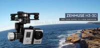 Free shipping FPV DJI Zenmuse H3-3D Phantom HD Camera 3-Axis Brushless Gopro Gimbal support ilook gogro3 DJI Phantom 2 visi toys