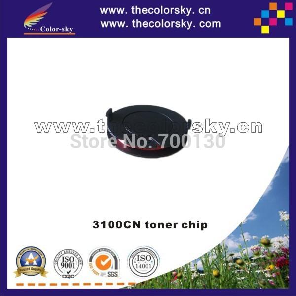 (TY-D3100T) genuine rfic rf ic toner chip for DELL 3100CN 3100 cn 341-3568 341-3569 341-3570 341-3571 4k free dhl(China (Mainland))