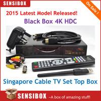 Latest Singapore Black Box hdc600 plus starhub tv box hd-c600 plus hd tv receiver watch BPL 2014 - 2015 new season free by DHL
