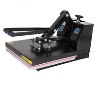 New Digital Clamshell Heat Press Transfer T-Shirt Sublimation Machine 15 x 15 110V US Plug