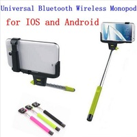 Hot! DHL 30pcs Z07-5 Universal Bluetooth Wireless Monopod Handheld Mobile Phone Holder for ios android Smartphone Cradle Bracket