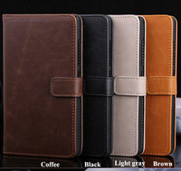 Retro Vintage Folio Flip leather case for Nokia XL Dual SIM RM-1030/RM-1042 Wallet credit card Stand holder