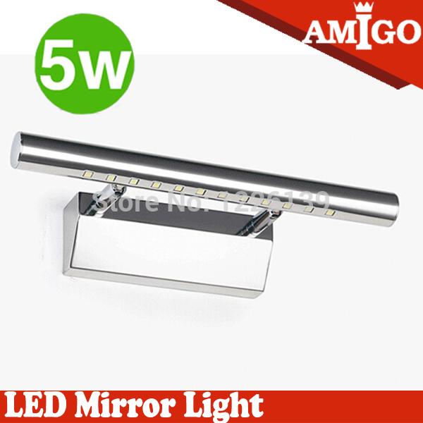 современные Светодиодные зеркало лампа 5w ванной