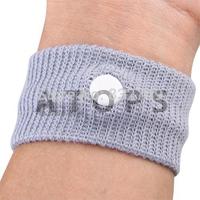 Free Shipping , 8Pcs Anti Nausea Car Sea Sickness Travel Wrist Bands