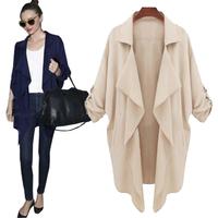 Fashion Temperament Falbala Chiffon Sexy Bat Sleeve Coat Lapels Free Shipping 2014 Spring New S,M,L,XL,XXL,XXXL,XXXXL 7601