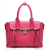 New 2014 Women's Crossbody Bags double zipper women messenger bags handbags women famous brands genuine leather women handbag