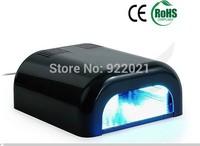 Free shipping :2014 High quality 36W UV Nail Dryer - 36w uv nail amp voltage 100V ~240V /36w LED UV Lamps
