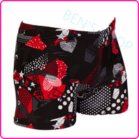hot sale men geometric polyester spandex swimwears swimsuits freeshipping  beach short boxer swimming trunks swim sunga de praia