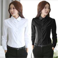 blusas New Women Plus Size Blouses And Shirts Long sleeve Brand Ladies' Shirt Office Lady Ruffles Chiffon Cardigan blouse bk237