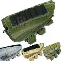 Molle Tactical Accessory Kit \ parts pendant bag Airsoft Shotgun Rifle Ammo Pouch Cheek Pad