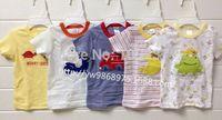 carters baby boy girl clothes , Fashion cartoon baby t shirts,long sleeves tops tees Retail