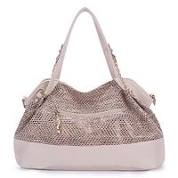 11.11 Sales!New 2014 Fashion Women Messenger Bags High Quality Serpentine PU Leather Handbags Desigual Tassel Totes Shoulder Bag