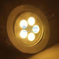 5W Ceiling Downlight LED Ceiling Lamp Recessed Spot Light 85V-265V For Home illumination Warm White #005 SV003015