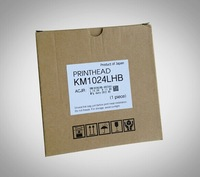 100% original new KM1024LHB printer head compatible for konica 1024/42pl UV Nozzle With internal heating printhead