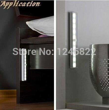 10pcs Epistar LEDS smart wireless induction lamp 6v low voltage safety led lights free shipping(China (Mainland))