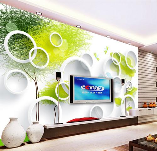 tapete wohnzimmer grün:Ozean tv hintergrund tapete 3d tapete grün wandbild tapete in Ozean