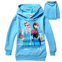 New 2014 Children kids baby Frozen Princess t shirt long sleeve girl tees clothing Spring Autumn free shipping