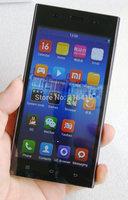 Black Mi3 unlocked smart phone 5.0 inch Android 4.2 Bluetooth Dual-Core GPS WIFI Mi 3 MOBILE PHONE