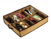 Free Shipping 1pcs/Lot Transparent Shoes Storage Box WaterProof /Home Storage box/ shoe box #9302