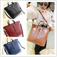 VEEVAN 2014 New European And American Women Tote bags PU Leather Handbag Messenger Bags Designers Brand Women Shoulder Bags