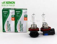 2PCS New XENCN H16 12V 19W 3200K PGJ19-3 Original Spare Parts Car Bulbs UV Filter OEM Lamp Halogen Fog Light Free Shipping