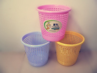 Free Shipping  Plastic wastepaper baskets(medium-size)