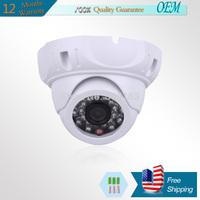 ANRAN SONY 1/2.5' sensor IMX138 1200TVL HD Indoor IR-CUT 24 IR leds mini home Surveillance CCTV Security dome Camera with OSD