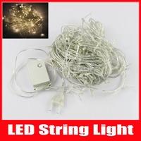 Christmas LED String Lights 20M 200 LED Home Party Wedding Luminaria Decoration Fairy Lights AC 110V/220V EU/US Plug,Free Ship