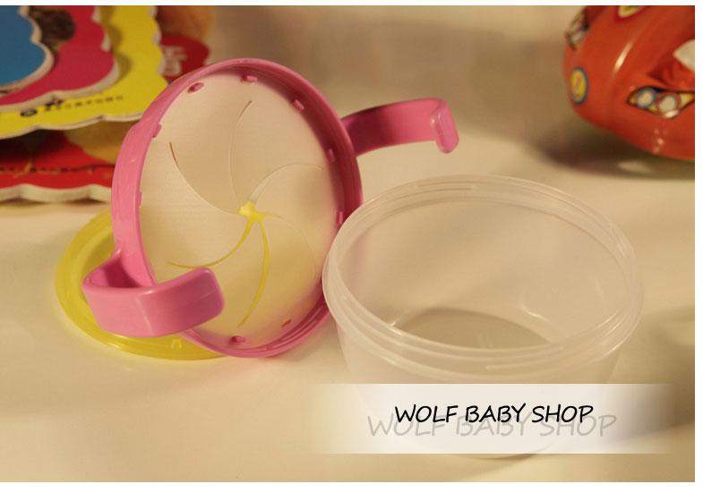4 шт / lot дети двойной в рукоятка закуски чаша печенье конфеты банки bpa младенцы младенческой съедобные безопасный обеденная посуда