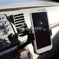 Free shipping car air outlet universal mobile phone holder GPS navigation bracket car bracket for iphone 5 6 samsung htc