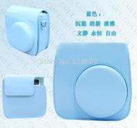 Leather Camera Hard Case Bag Cover For Fujifilm Fuji Instax Mini8 Mini 8 Mini 8s+ Free shipping
